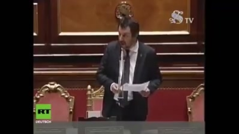 RT Deutsch - Salvini;Ich habe es satt, dass Kinder im...