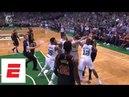 Larry Nance Jr., Marcus Morris get into heated altercation in Game 5 of Cavs vs. Celtics | ESPN