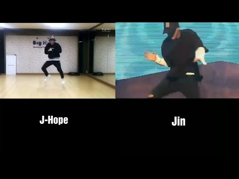 Jin Can't Dance? Watch this | BTS Jin's Solo Dance