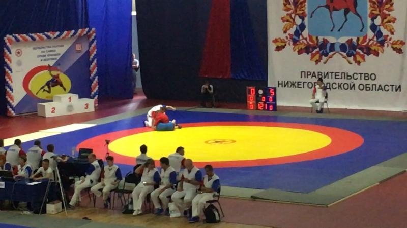 Россия 🇷🇺 2018 Толя в 35 кг 1 встреча