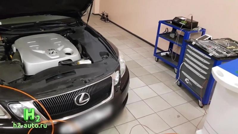 -=H2=- Раскоксовка двигателя Lexus GS300