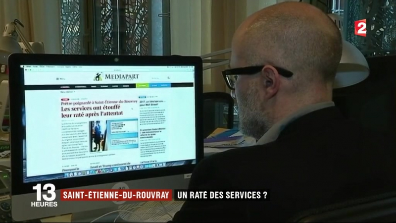 Attaque de Saint-Étienne-du-Rouvray une enquête accable les