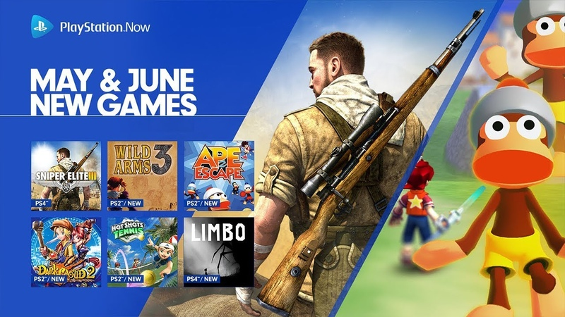PlayStation Now - May June 2018 Update | PS4, PC