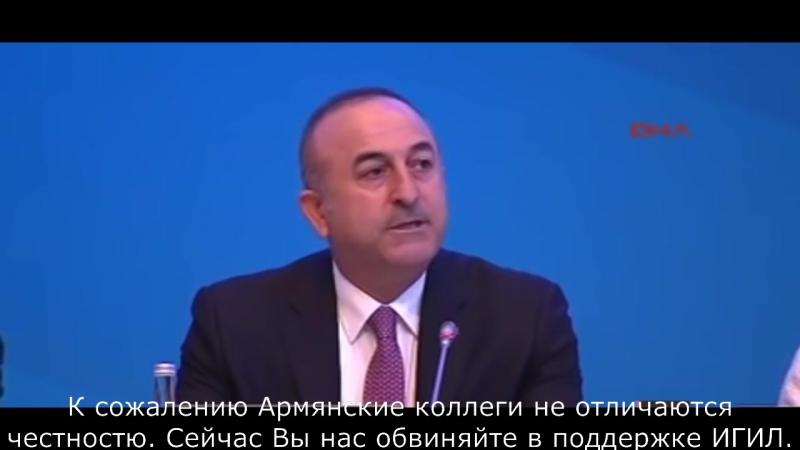 Жесткий ответ турецкого министра армянскому депутату- Вы лжецы!.mp4