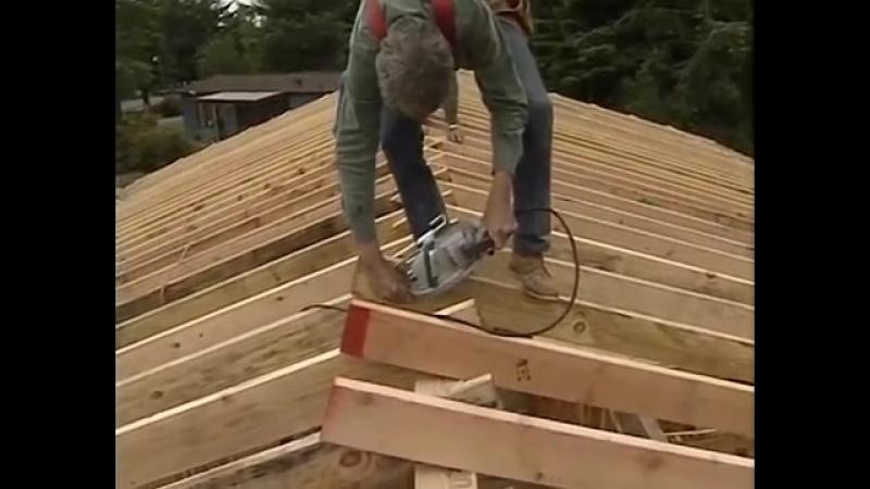 3. FRAME HOUSE Каркасные Крыши. Ларри Хон