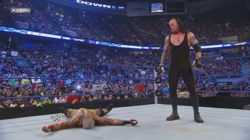 Гробовщик атакует Бенджамина SmackDown 01.02.2009