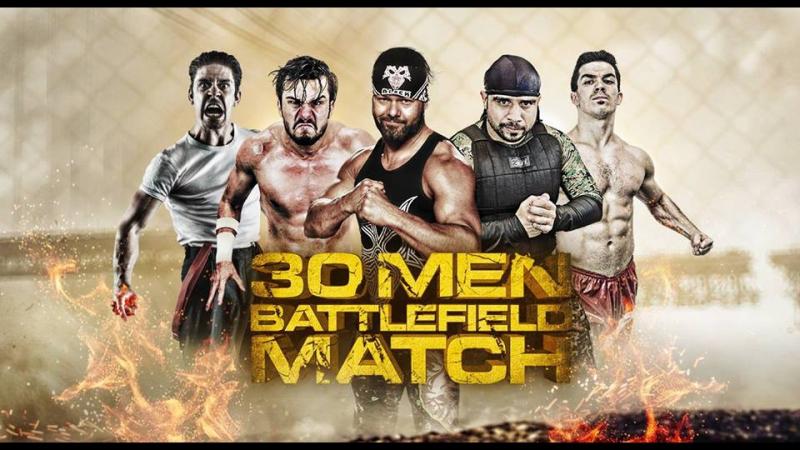 30 Человек Battlefield матч 2016 года (GWF Роял Рамбл).