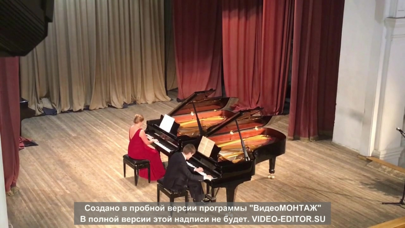 Д. Шостакович-Концертино для двух фортепиано