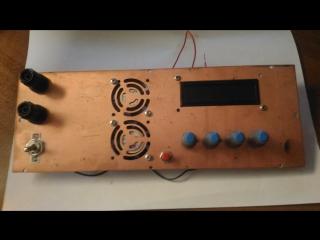 Обработка лицевой панели измерительного прибора на домашнем станке с ЧПУ