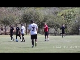 March 17: Video of Justin playing soccer in Playa Vista, California