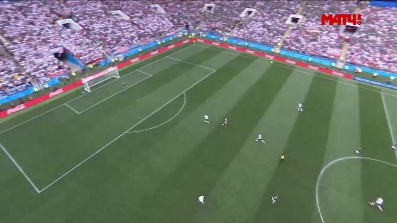 Германия - Мексика. 0 :1. (Гол Лосано).