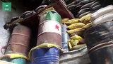 ФАН публикует видео из бывшего полевого госпиталя боевиков в Аль-Мадании