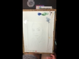 Проработка портрета тоном ✍?