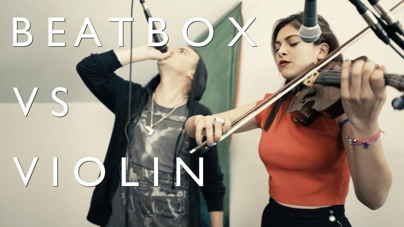 BEATBOX vs VIOLIN THePETEBOX Yasmine Azaiez Wishing With You