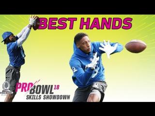 NFL 2018 | Pro Bowl Skills Showdown | Best Hands | Highlights