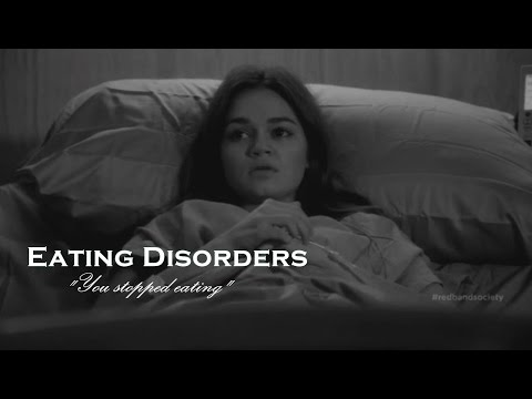 ● Eating Disorders || You stopped eating