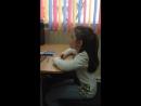 Ученица академии Илясова Рания. 8 лет. 3 недели занятий. Педагог Сагдуллина Гузаль