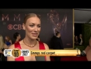 Yvonne Strahovski on the Emmy Red Carpet 2017 - Interview with Studio 10