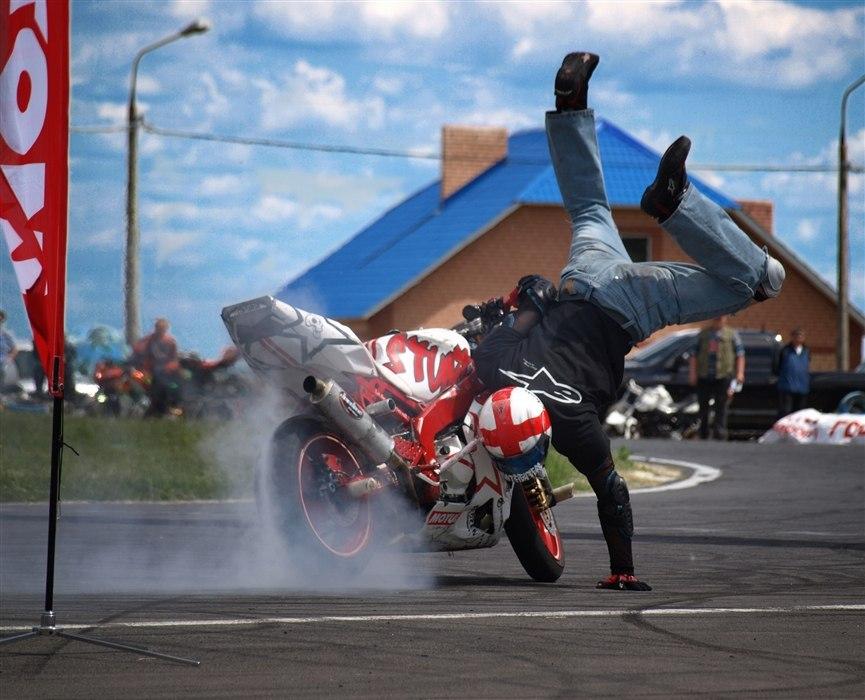 «СтантШоу #1» или балет на мотоциклах!