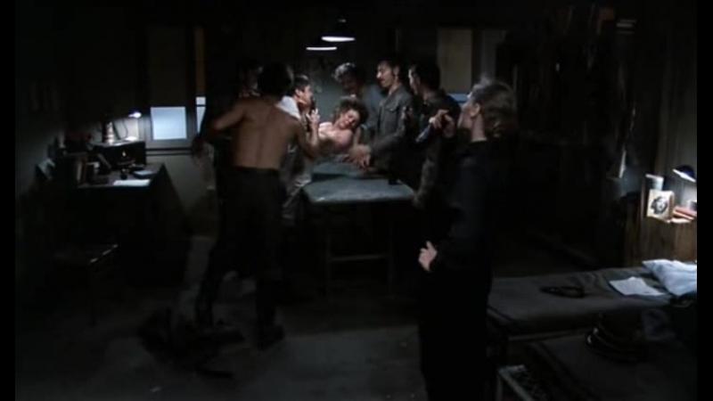 сексуальное насилие и часть бдсм сцен(изнасилование, порка, бондаж) из фильма Ilsa: She Wolf of the SS(Ильза – волчица СС) 1975