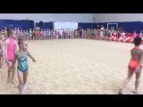 Парад гимнасток на