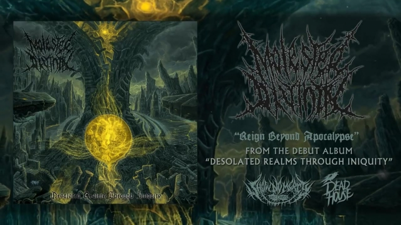 MOLESTED DIVINITY - DESOLATED REALMS THROUGH INIQUITY [OFFICIAL ALBUM STREAM] (2018) SW EXCLUSIVE