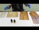 Как выбрать линолеум Обзор сравнение Пытка линолеумов зелёнкой и йодом