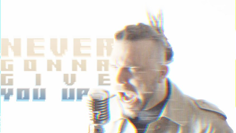 Never Gonna Give You Up - Rick Astley ( Metal Rock Cover by Bommel )