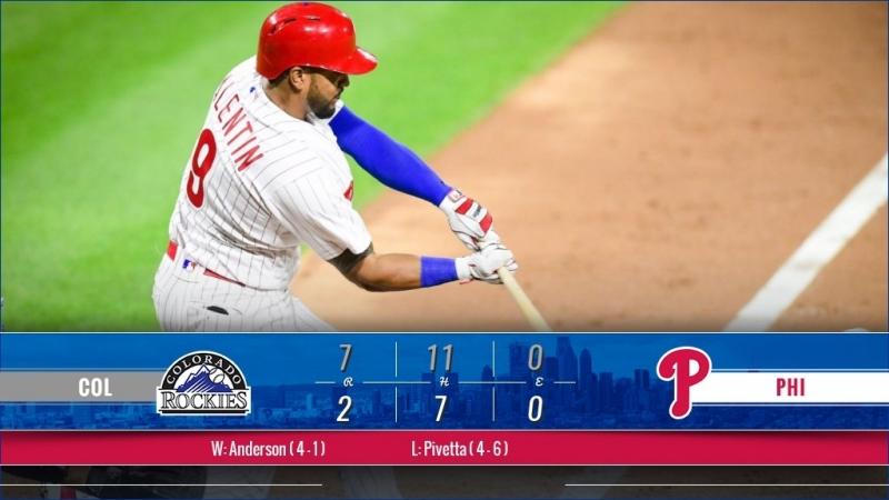 Game 65: COL_7_ PHI_2 © MLB.com