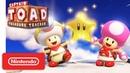 Captain Toad Treasure Tracker Gameplay Trailer - Nintendo Switch