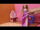 Видео для девочек про куклы. Собираемся на бал
