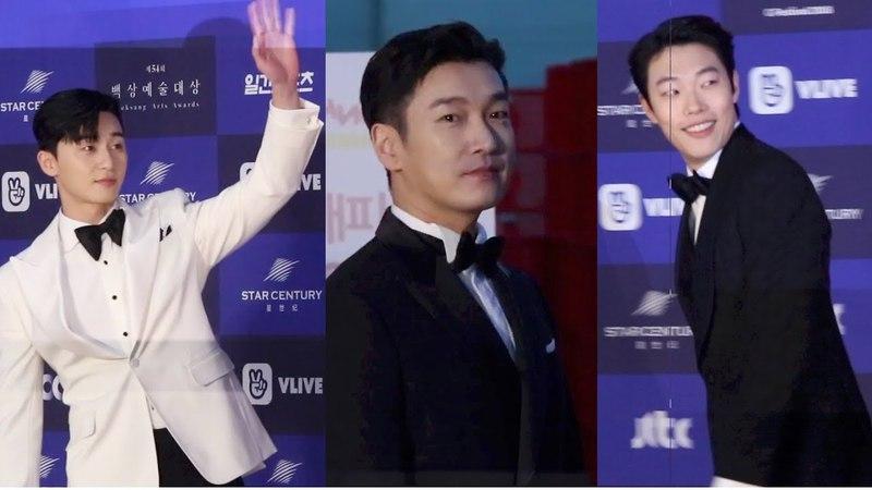 조승우·박서준·류준열 '취향저격! 만인의 이상형' (2018백상예술대상 레드카54