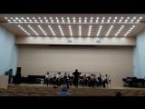 Смотр оркестров народных инструментов. Оркестр гитаристов