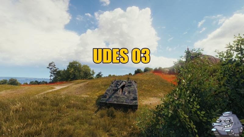 Стрим World of Tanks UDES 03 СТРАДАНИЯ В СТОКЕ бонус код