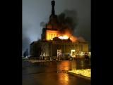 Загорелся центральный павильон ВДНХ