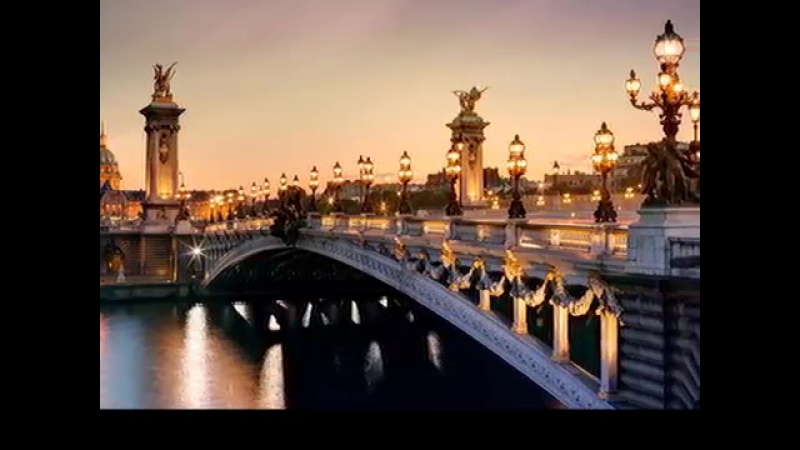 A Paris Французкий аккордион. Любовь. Окно в Париж
