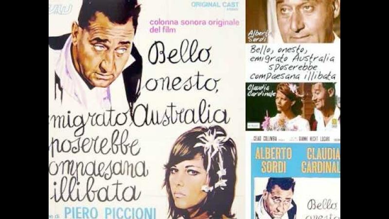 Австралийская девушка. 1971. Комедия, Италия. Клаудиа Кардинале, Альберто Сорди (1)