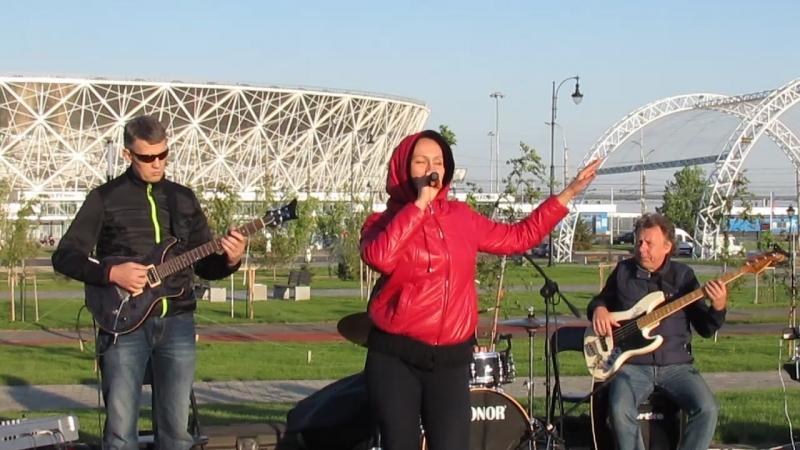 Комбо-джаз-бенд и Александра Соловьева