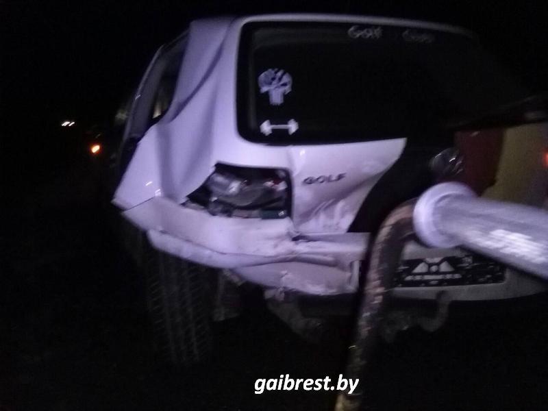 Один человек пострадал в результате столкновения в Березовском районе