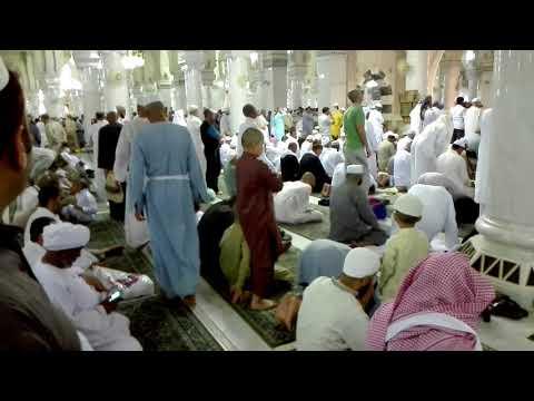 Hajj o Umrah Haram mein Nemaze kay aagay say Gozarna