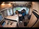 Жизнь и быт внутри автодома во время движения на примере нового Knaus Sky I 700