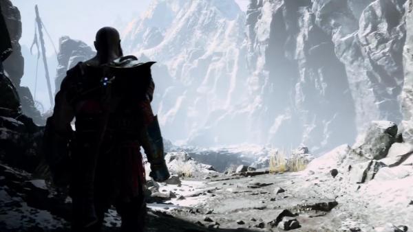 God of War PS4 - Дракон Boss Fight 8 (На высокой ложности)