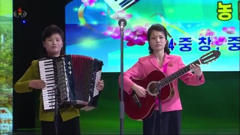 제16차 전국근로자들의 노래경연 농민부류 4중창 중창종목준결승