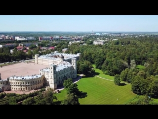 Saint Petersburg drone vignettes (version 2) / Санкт-Петербургские зарисовки (2-я версия)