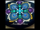 How to Paint a dot mandala ~ Swipes, Dot Drags included ~ by Miranda Pitrone ~ Rock Painting Fun