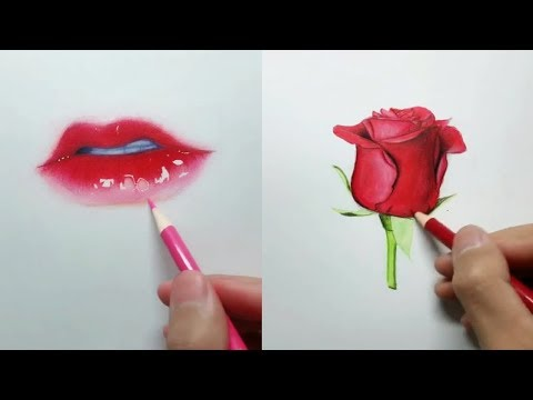 Most Amazing Art videos🌺 Painting tutorial - Simple drawings - Cute Drawings / part2