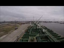 Антверпен Пере швартовка постановка под погрузку Port Antwerpen Re mooring stay for loading