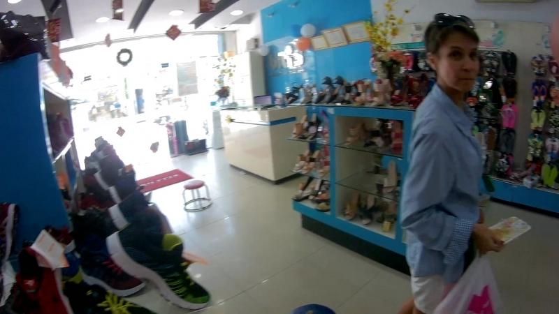 Вьетнам Нячанг 2018. Обувной магазин Biti`s