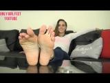Only Girl Feet - Sasha Foxxx Perfect Feet
