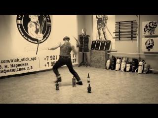 Танец баты и виски. dance with bata and whiskey
